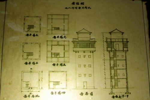 (碉楼建造图纸)