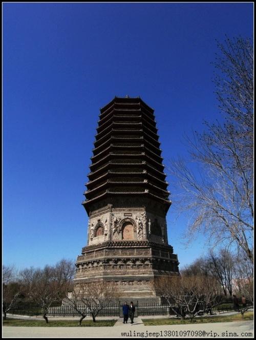 2007北京-西八里庄玲珑塔-夜归人-我的搜狐