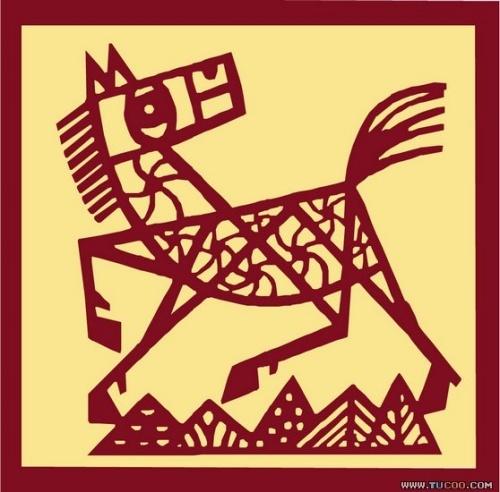 十二生肖剪纸 - 龙精灵悦儿的博客