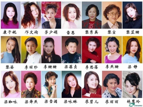 tvb男演员表_香港女演员图片大全,香港女演员图片大全图片大全