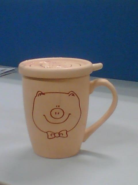 和我可爱的小猪杯子说再见了