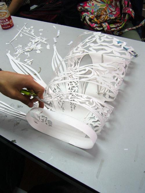 立体构成仿生作业图片-立体构成仿生动物图片,立构仿生作品折纸,仿生