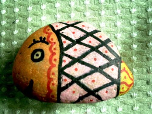 卵石动物造型-李乐-搜狐博客
