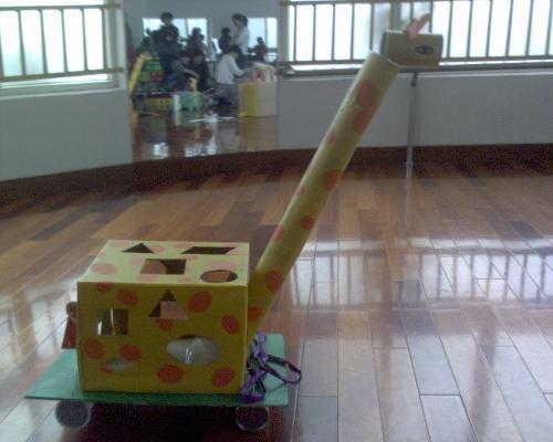 幼儿园废物利用手工制作大全小火车