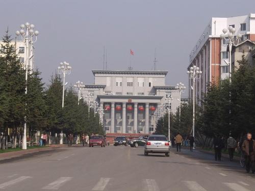 鹤岗政治中心——老街基