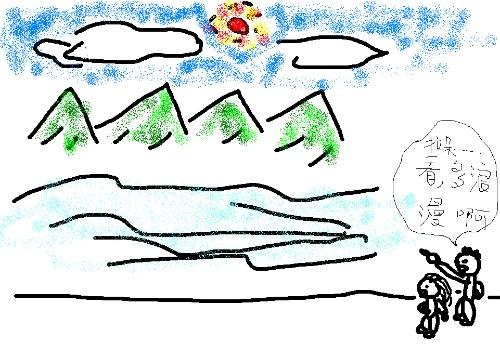 来自火星的兔子西西开始尝试画彩笔画…&