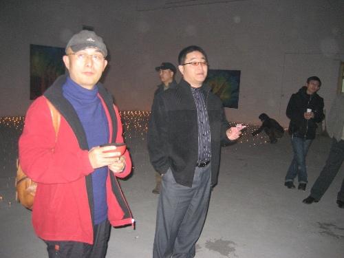 2007年4月5日在bs1举行的现场艺术_赵树林_新浪博客