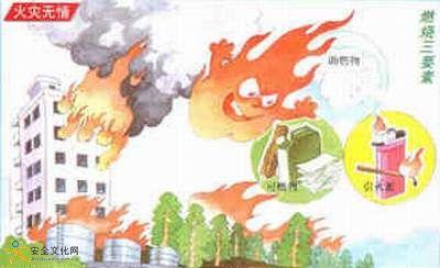 消防知识安全宣传图片系列二:小学及幼儿园师生对火